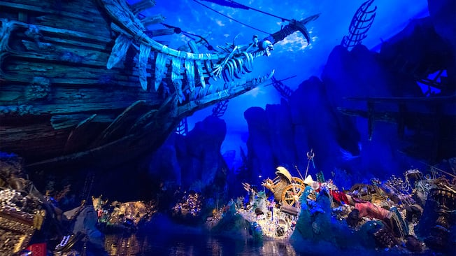 加勒比海盗 游乐设施 上海迪士尼度假区