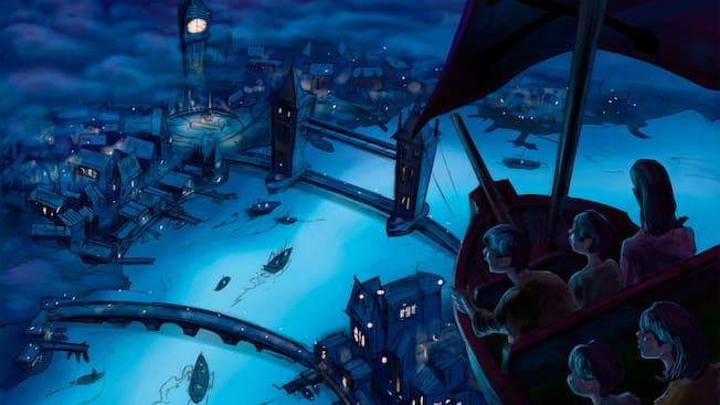 小飞侠天空奇遇 上海迪士尼度假区 上海迪士尼乐园